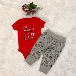 Carter's 2 Piece Set Size 6m